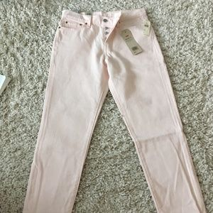 "NWT Anthro LEVI'S ""Wedgie"" pink size 29Wx28L"